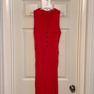 Athleta maxi sleeveless dress
